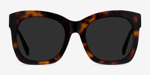 Claudette Tortoise Acetate Sunglass Frames