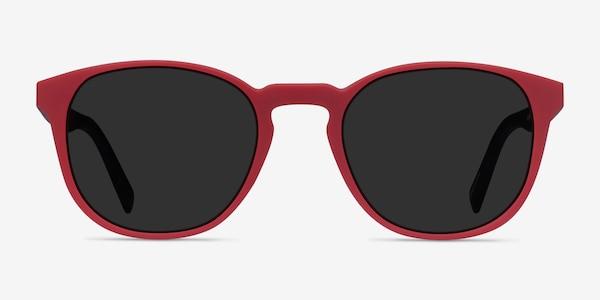 Dune Crimson & Warm Tortoise Plastic Sunglass Frames