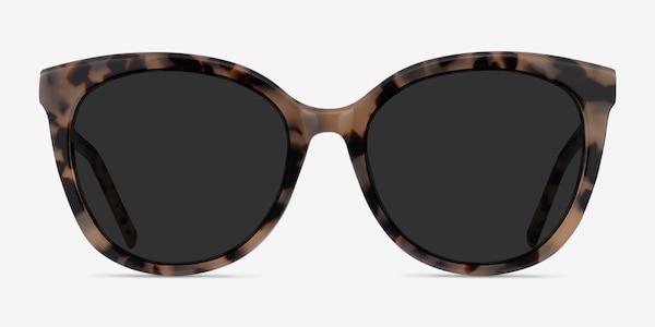Cinematic Ivory Tortoise Acetate Sunglass Frames
