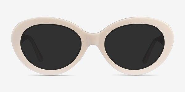 Alexandra Beige Acetate Sunglass Frames