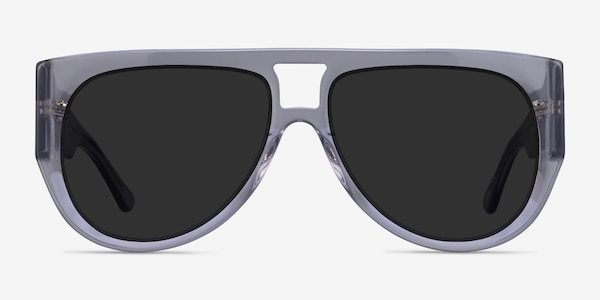 Southwest Clear Gray Acetate Sunglass Frames