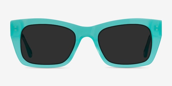 Because Turquoise Acetate Sunglass Frames