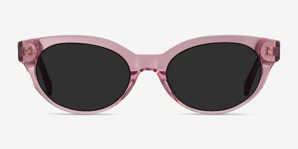 Vacation Clear Pink Acetate Sunglass Frames