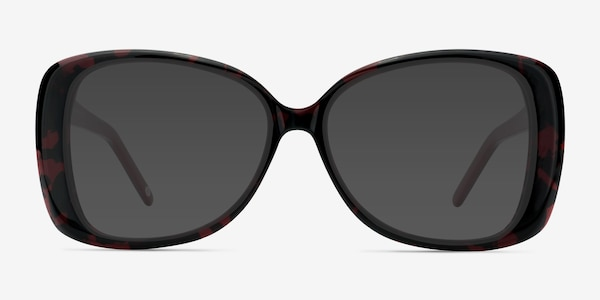 Marilyn Black Red Acetate Sunglass Frames
