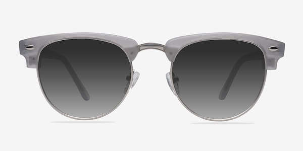 The Hamptons  Clear Silver  Acetate-metal Sunglass Frames