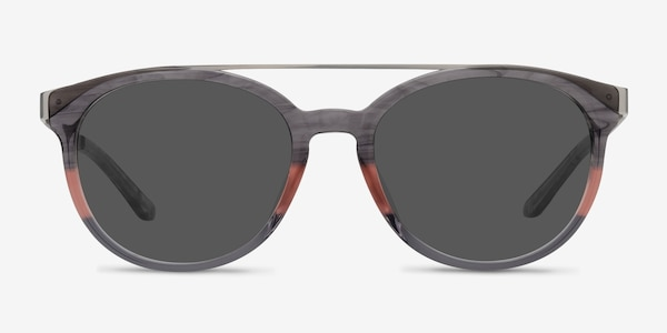 Morning Breeze Gray Pink Acetate-metal Sunglass Frames