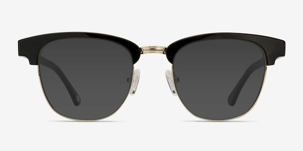 Somebody New Black Acetate-metal Sunglass Frames