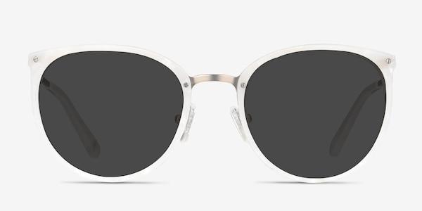Crush Ivory Acetate-metal Sunglass Frames