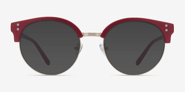 Samba Red Metal Sunglass Frames
