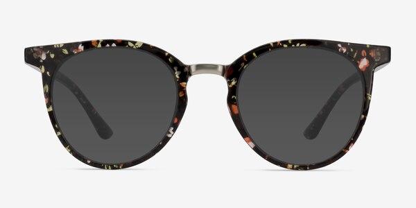 Lulu Floral Plastic-metal Sunglass Frames