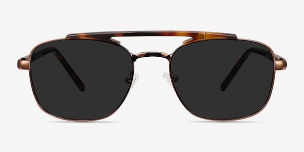 Decode Tortoise Brown Acetate-metal Sunglass Frames