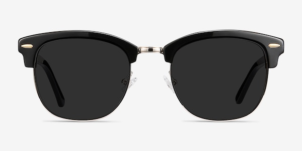 Strata Black Acetate-metal Sunglass Frames