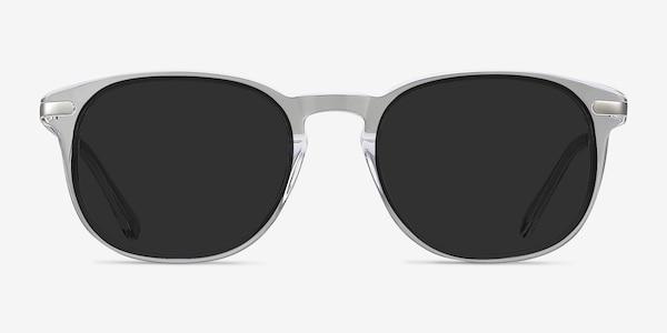 Council Clear Acetate-metal Sunglass Frames
