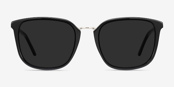 Yuma Black Acetate-metal Sunglass Frames