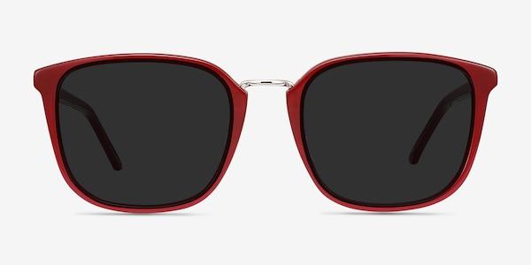 Yuma Red Acetate-metal Sunglass Frames