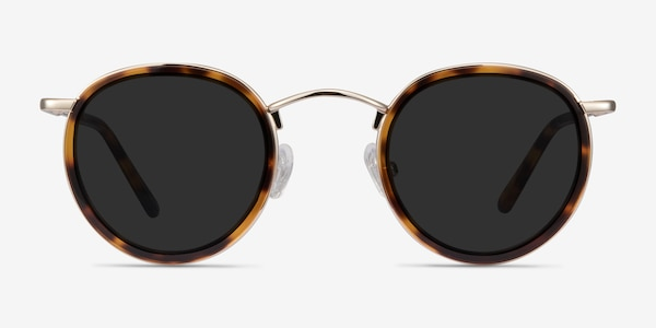 Rollin Tortoise Acetate-metal Sunglass Frames