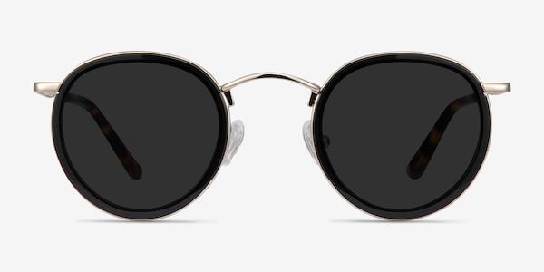 Critic Black Acetate-metal Sunglass Frames