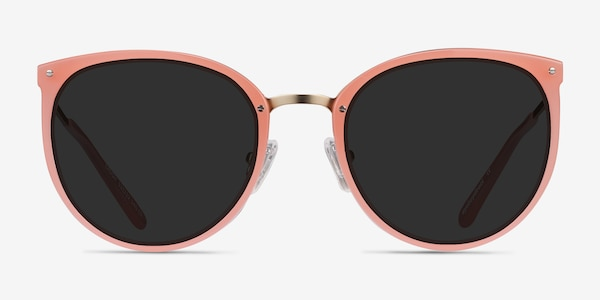 Crush Coral Acetate-metal Sunglass Frames