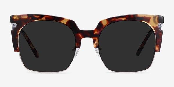 Ilsa Tortoise Acetate-metal Sunglass Frames