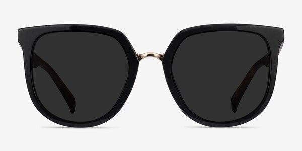 Shannon Black & Tortoise Acetate Sunglass Frames