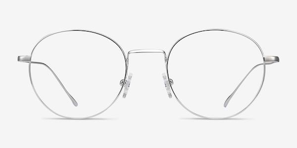 Aegis Silver Titanium Eyeglass Frames