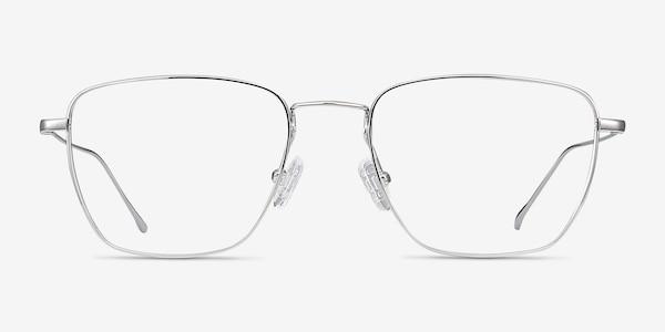Future Silver Titanium Eyeglass Frames