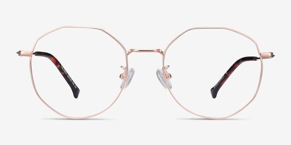 The Path Rose Gold Titanium Eyeglass Frames