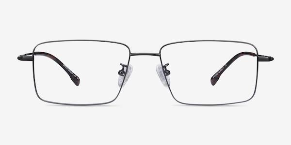 Lands Gunmetal Titanium Eyeglass Frames