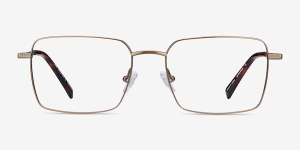 Apex Bronze Titanium Eyeglass Frames