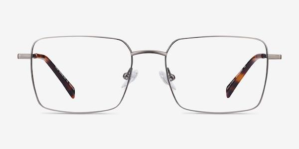 Apex Gunmetal Titanium Eyeglass Frames