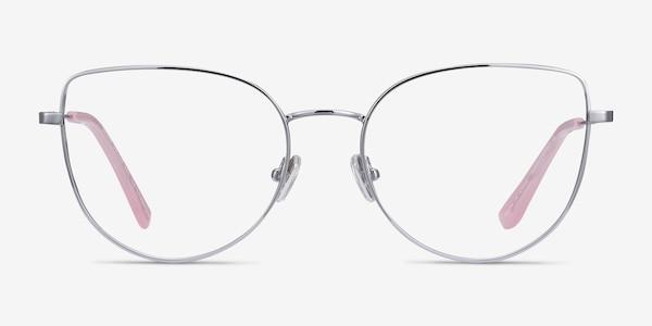 Imani Silver Titanium Eyeglass Frames