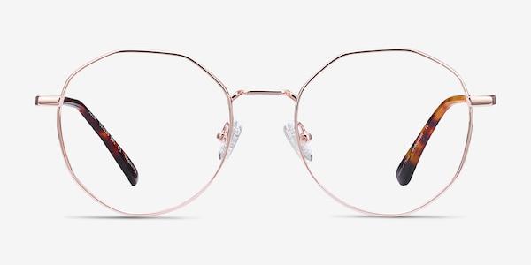 Julia Rose Gold Titanium Eyeglass Frames