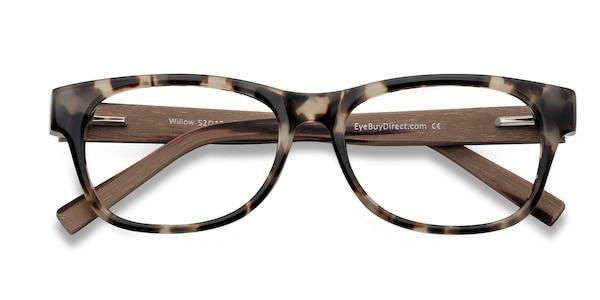 Willow Rectangle Brown Amp Tortoise Frame Glasses