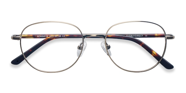 Pensieve Square Bronze Frame Glasses Eyebuydirect