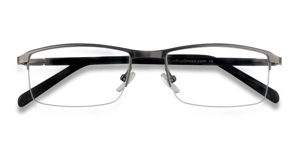 Semi Rimless Eyeglasses   EyeBuyDirect
