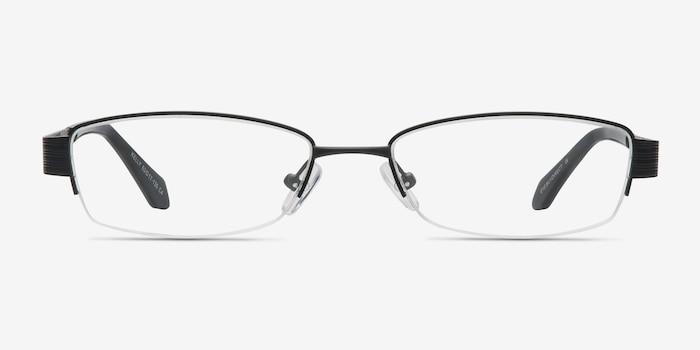 df2acca05d7 Kelly Black Metal Eyeglass Frames from EyeBuyDirect