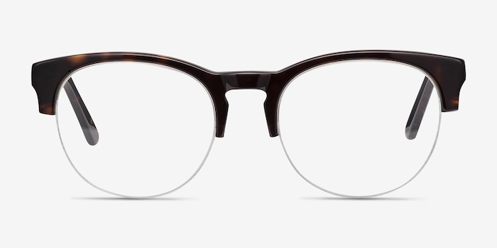 Zoot Tortoise Acetate Eyeglass Frames from EyeBuyDirect, Front View