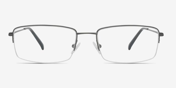 6e638ee25c7 Kanick Gunmetal Titanium Eyeglass Frames from EyeBuyDirect
