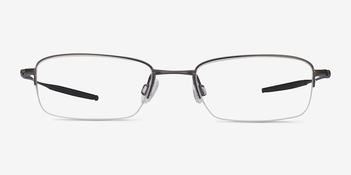 Oakley OX3133 Pewter Metal Eyeglass Frames from EyeBuyDirect, Front View