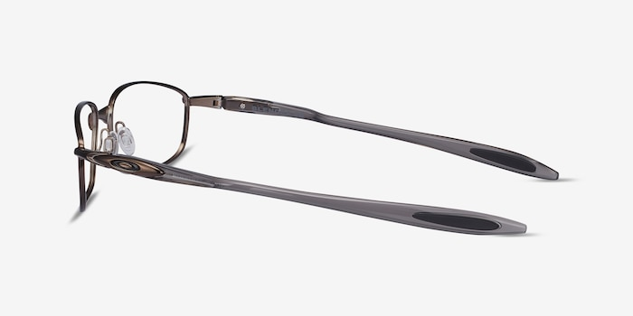 Oakley Blender 6B Pewter Metal Eyeglass Frames from EyeBuyDirect, Side View