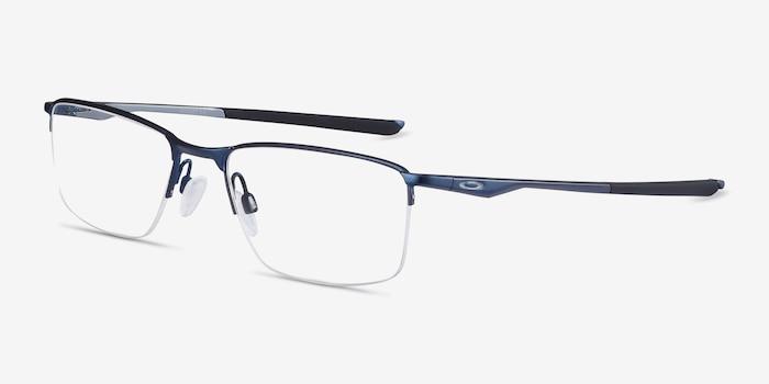 Oakley Socket 5.5 Matte Midnight Metal Eyeglass Frames from EyeBuyDirect, Angle View