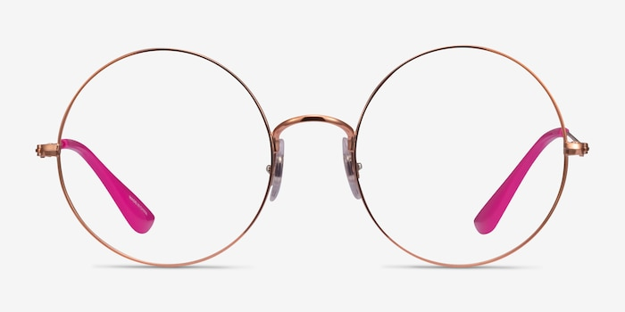Ray-Ban RB6392 Bronze Metal Eyeglass Frames from EyeBuyDirect, Front View