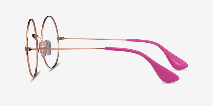 Ray-Ban RB6392 Bronze Metal Eyeglass Frames from EyeBuyDirect, Side View