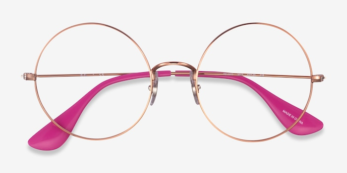Ray-Ban RB6392 Bronze Metal Eyeglass Frames from EyeBuyDirect, Closed View