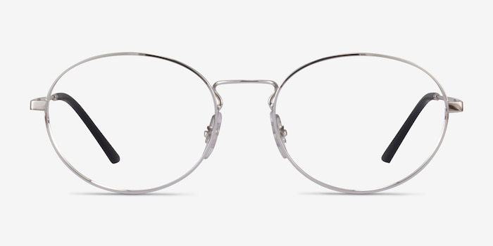Ray-Ban RB6439 Silver Metal Eyeglass Frames from EyeBuyDirect, Front View