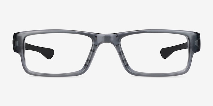 Oakley Airdrop Gray Shadow Plastic Eyeglass Frames from EyeBuyDirect, Front View
