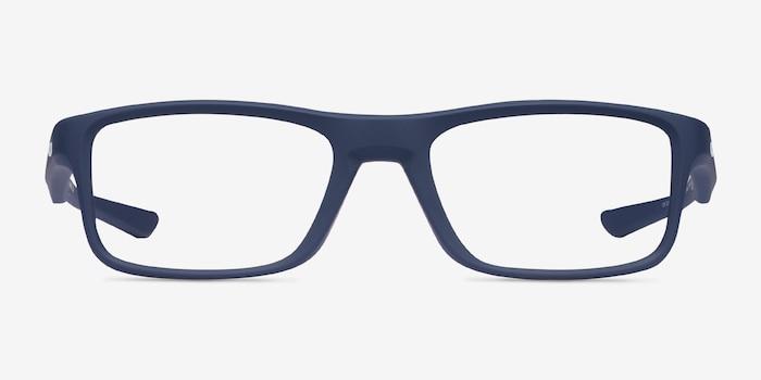 Oakley Plank 2.0 Universal Blue Plastic Eyeglass Frames from EyeBuyDirect, Front View
