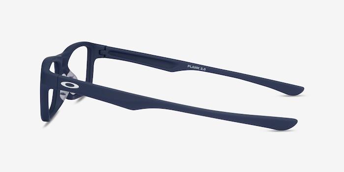 Oakley Plank 2.0 Universal Blue Plastic Eyeglass Frames from EyeBuyDirect, Side View