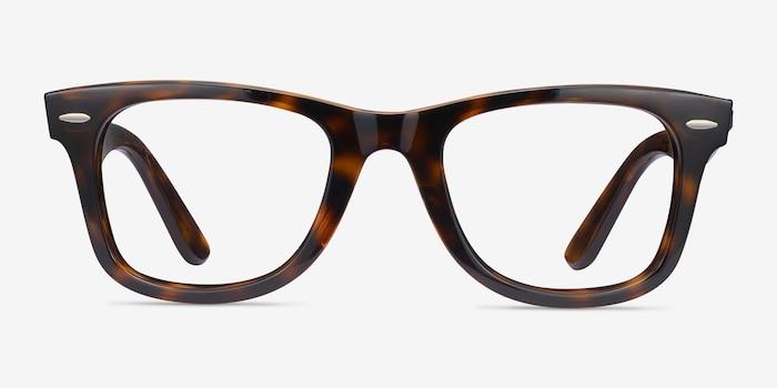 Ray-Ban RB4340V Tortoise Plastic Eyeglass Frames from EyeBuyDirect, Front View