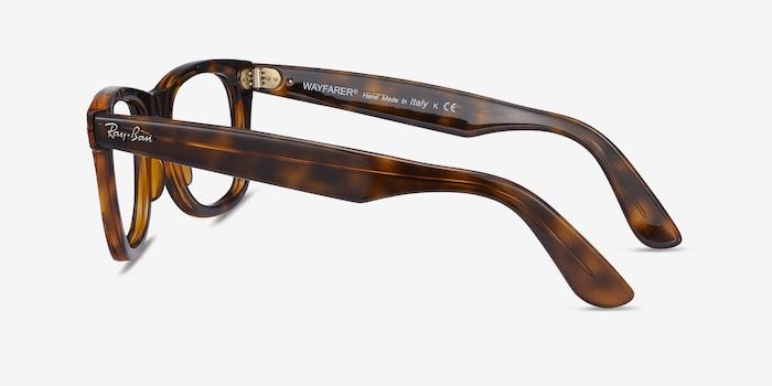 Ray-Ban RB4340V Tortoise Plastic Eyeglass Frames from EyeBuyDirect, Side View
